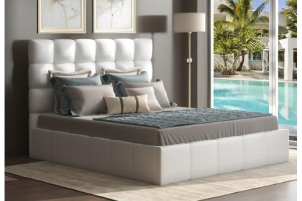 Кровать с мягким изголовьем Эмили 90*200