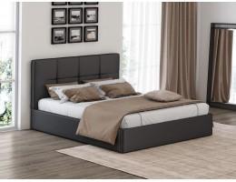 Кровать с мягким изголовьем Грация 1 90*200