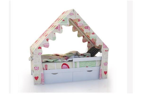 Кровать-домик «SCANDI» Белый