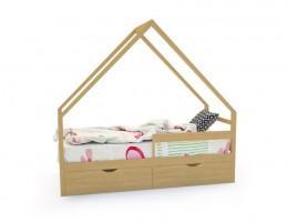 Кровать-домик «SCANDI» дерево