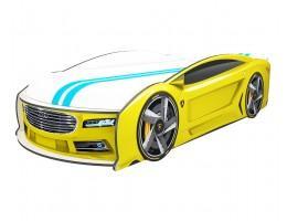 Кровать машина Ауди Манго Желтая