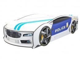 Кровать машина Ауди Манго Полиция 2