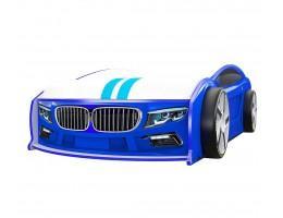 Кровать машина БМВ Манго Синяя
