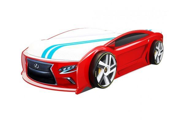 Кровать машина Лексус Манго Красный 182*80 см