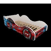 Детская кровать -  машина Бостон. Человек паук