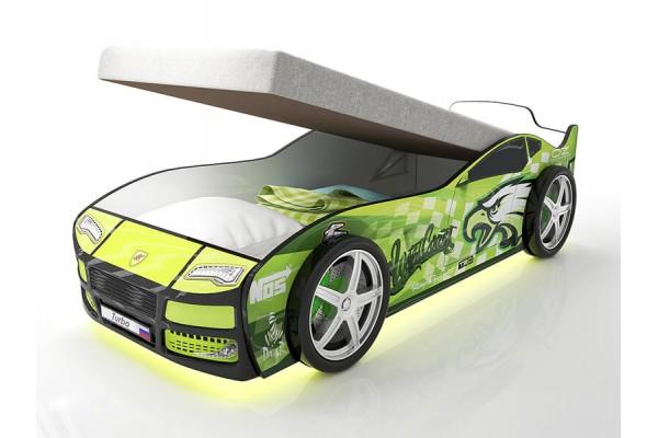 Кровать машина Турбо Гудзон с подъемным матрасом