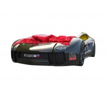Кровать машина Ламба Next Черная