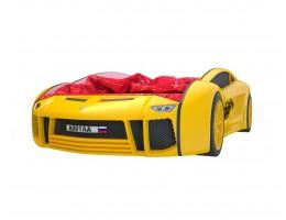 Кровать машина Ламба Next Желтая
