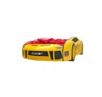 Кровать машина Ламба Next Желтая2