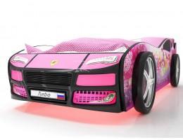 Кровать машина Турбо Фея с подъемным матрасом