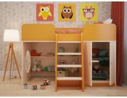 Игровая кровать чердак Апельсин