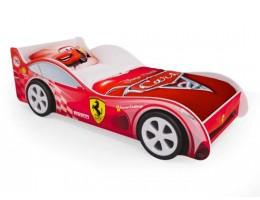 Детская кровать - машина Красная Феррари с ящиками
