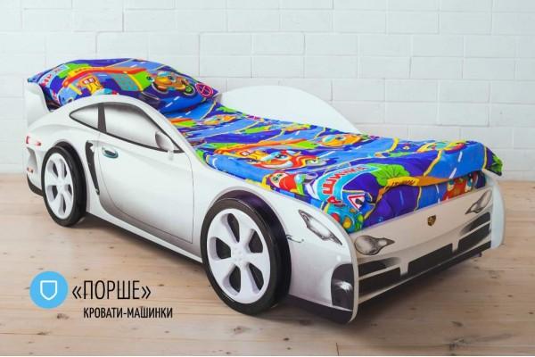 Детская кровать - машина PORSCHE (ПОРШЕ)