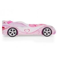 Детская кровать - машина Принцесса с ящиком для игрушек