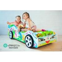 Детская кровать - машина Принцесса1