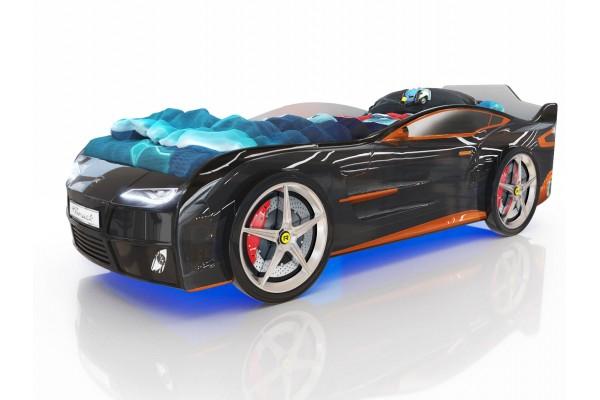 Детская кровать-машина Romack Черный