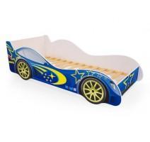 Детская кровать - машина Синяя