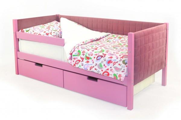 Детская кровать-тахта мягкая Бельмарко «Skogen лаванда»