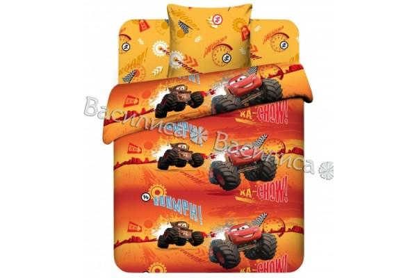 Детское постельное белье Тачки Молния Маккуин (бязь, 100% хлопок)