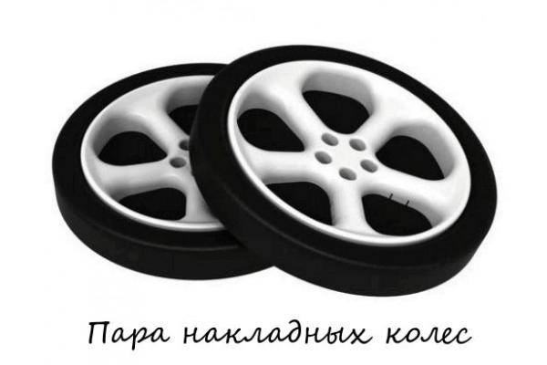 Пластиковые колеса для кровати - машины