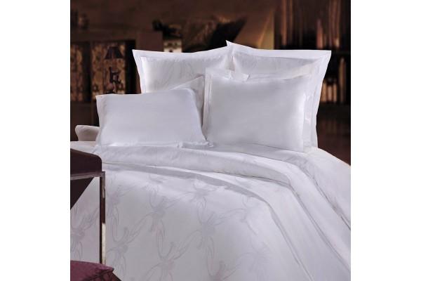 Комплект постельного белья Вензель Белый