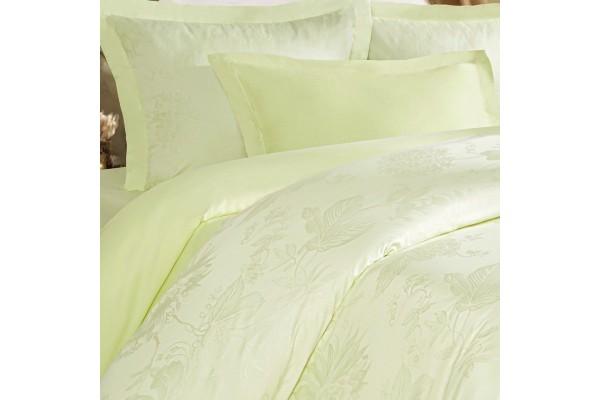 Комплект постельного белья Пион Салатовый