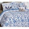 Комплект постельного белья Blue on white