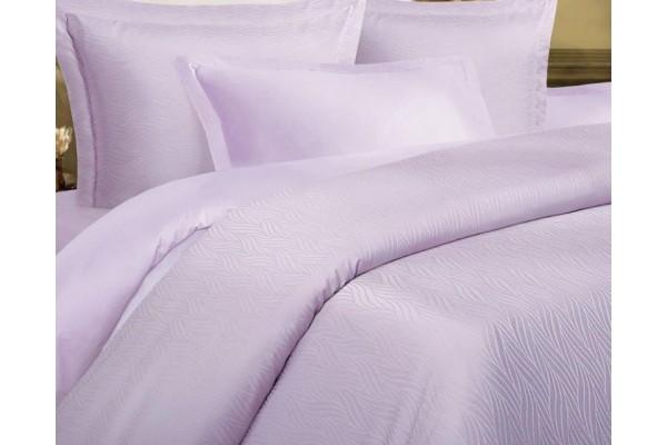 Комплект постельного белья Коса лавандовая