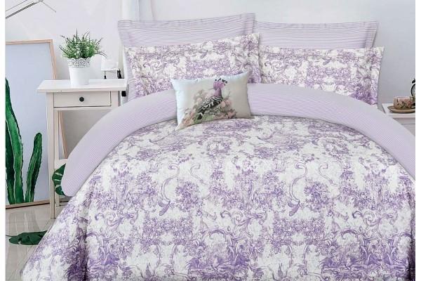 Комплект постельного белья Lavander on white