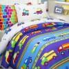 Детское постельное белье Машинки (бязь, 100% хлопок)