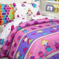 Детское постельное белье Принцессы (бязь, 100% хлопок)