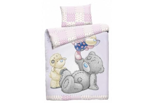Детское постельное белье Тедди и друзья (бязь, 100% хлопок)