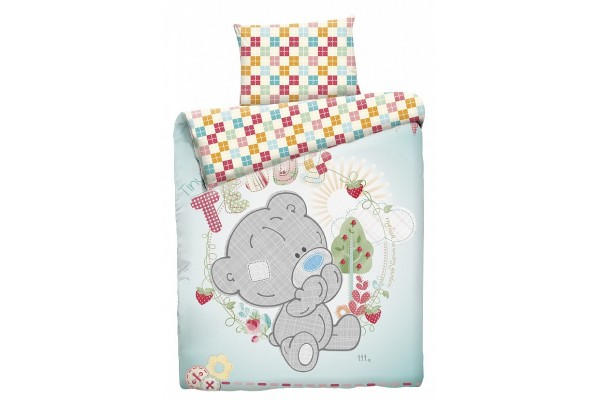 Детское постельное белье Тедди малыш (бязь, 100% хлопок). РАЗМЕР ЯСЛИ