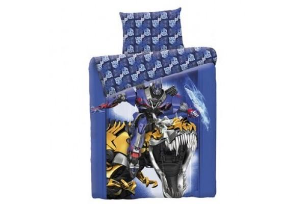 Детское постельное белье Transformers / Трансформеры (бязь, 100% хлопок)