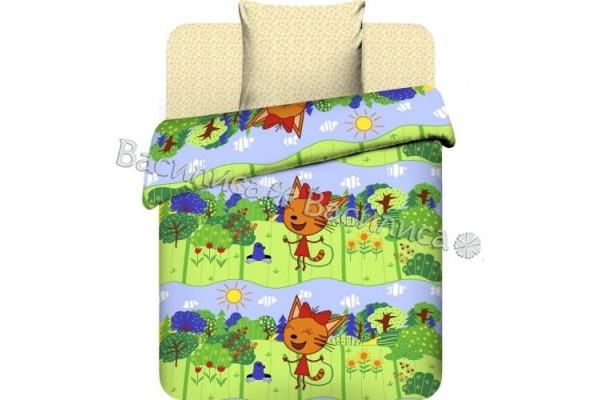 Детское постельное белье Три кота. Карамелька (бязь, 100% хлопок)