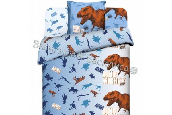 Детское постельное белье Василиса. Эра динозавров (поплин, 100% хлопок)