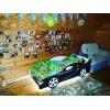 Кровать машина для мальчика BMW (БМВ)