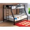 Двухъярусная кровать Гранада Черный