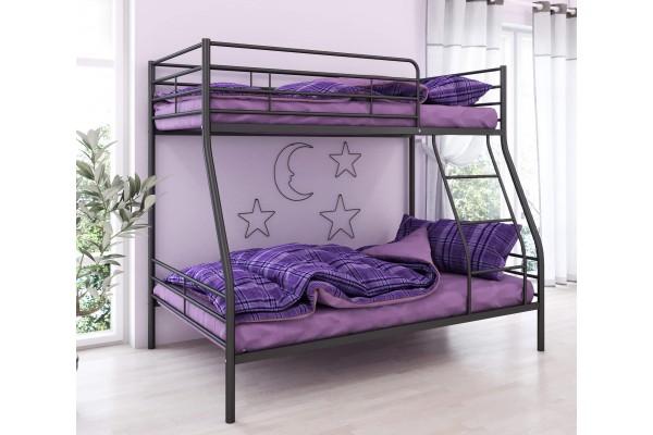 Кровать двухъярусная металлическая Гранада1